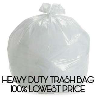[BN] White Heavy Duty Trash Bag