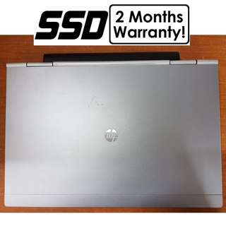[256G SSD Core i7 Gen3 Laptop] HP Elitebook 2570P: Base Clock Speed of 2.9Ghz!