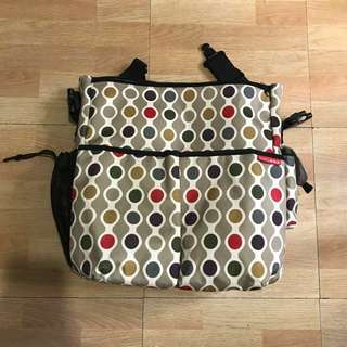 REPRICED!!! Skiphop diaper bag (bought for 3500)