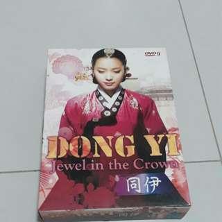 Dong yi korean dvd