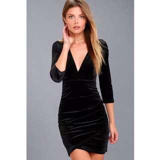 auatina velver dress