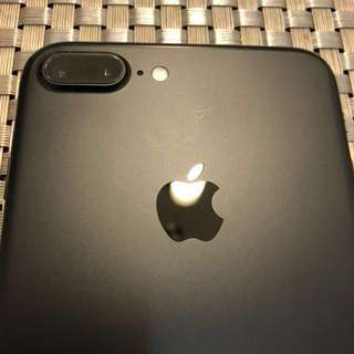 IPhone 7 Plus Matt black 128gb