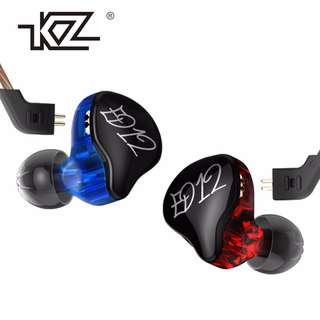 Knowledge Zenith (KZ) ED12 Chi-Fi IEM Earphone