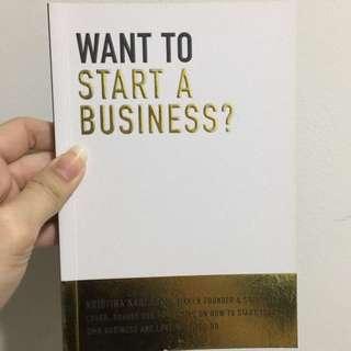 Want to start a business? By Kristina Karlsson [Kikki K Founder]