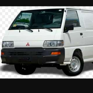 Cargo van for rent