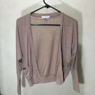 Cotton On Cardigan - Brown