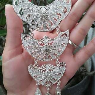 Bros Kebaya Silver
