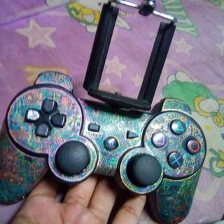 SONY PLAYSTATION 3 DUALSHOCK CONTROLLER MODIFIED FOR PHONE