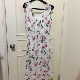 IROO花朵洋裝(尺寸38)