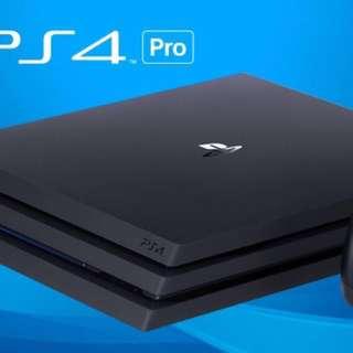PS4 pro連多隻game和account 只玩過兩次