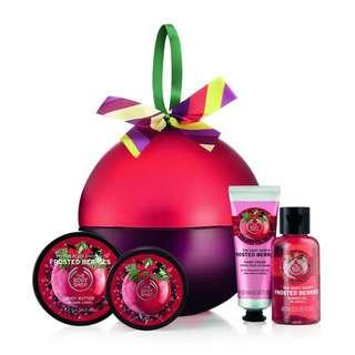 The Bodyshop Christmas gift set