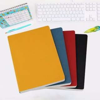 PU Leather Grid/Lined/Blank Notebook [PO]#XMASSALE