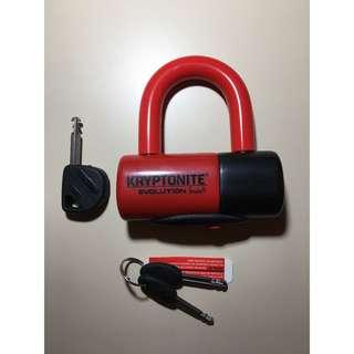 Kryptonite Lock Evolution series 4 Disc Lock (Red)