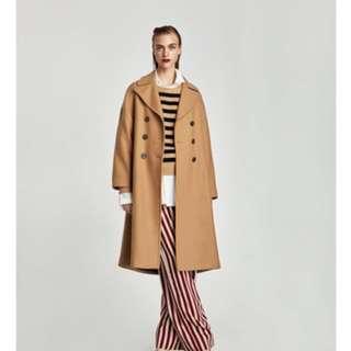 Large oversized Zara coat