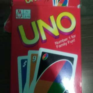 Uno cards complete 2 cards