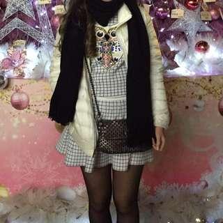 Owl Sweater + skirt