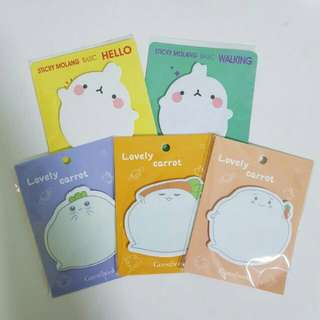 (INSTOCK) EXTREMELY CUTE POST-ITS