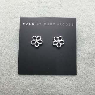 Marc Jacobs Sample Earrings 銀色閃石花花耳環