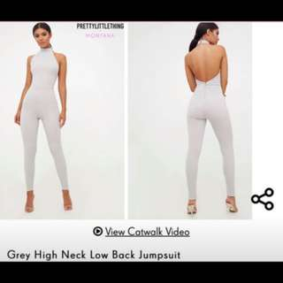 PLT Grey Jumpsuit