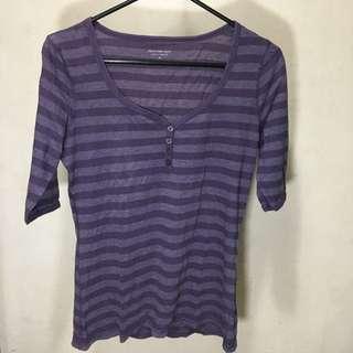 Calvin Klein Jeans Stripes - Purple