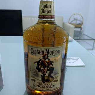 Captain Morgan Spiced Rum big bottle
