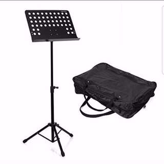 Music Stand Heavy Duty With Bag