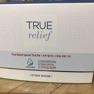 Etude house true relief travel set