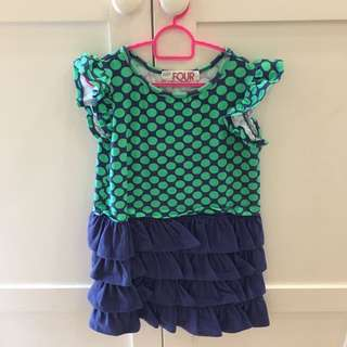 Cotton On Girls Dress Size 4