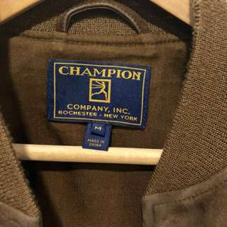 Todd Snyder for Champion 1 of 1 Suede Bomber Jacket