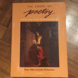 The Forms of Poetry