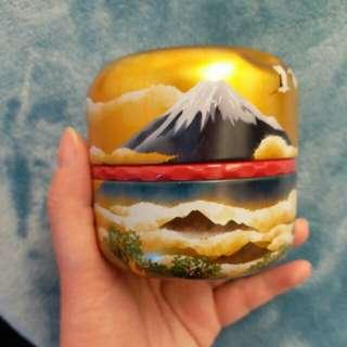 日本富士山茶葉罐