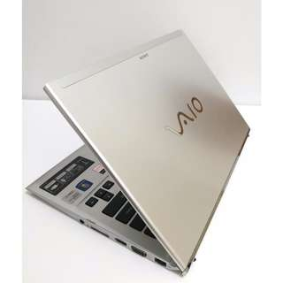 "(3 Gen i5) - Sony i5-3317U 13.3"" Notebook 手提電腦 (拉絲面 跟二件電池)"