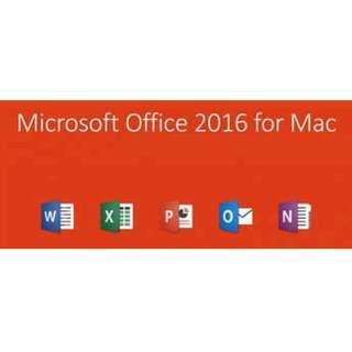 Microsoft Office 2016 [MAC]