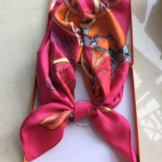 Hermes scarf 95% new 90x90