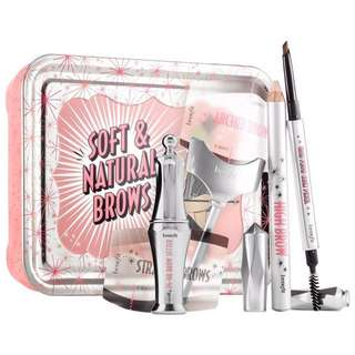 [ON HAND]Authentic BENEFIT COSMETICS Soft & Natural Brow Kit in 03 Medium