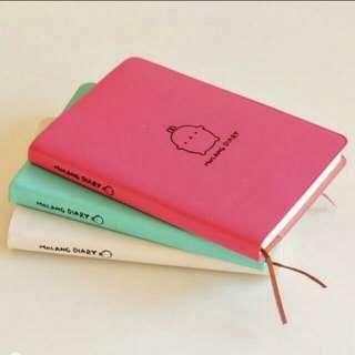 BN Cute Molang Diary Planner INSTOCKS