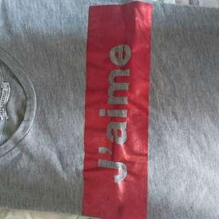 Zara jetaime Tshirt Size s, fit to m (big S)