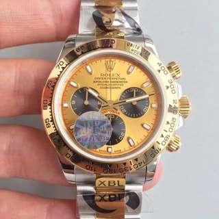 瑞皇名錶 驗貨交收 Rolex 迪通拿 116503 40mm 計時 金盤 黑圈