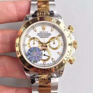瑞皇名錶 驗貨交收 Rolex daytona 白麵 116503 40mm 計時
