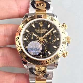 瑞皇名錶 驗貨交收 Rolex daytona 116503 計時 黑面 40mm