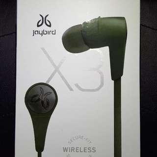 Jaybird X3 Alpha Green Sport Bluetooth Headphones Alpha Green