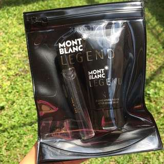 MONT BLANC LEGEND FOR MEN TRAVEL SET
