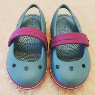 🌻 Preloved Crocs Mary Jane Sandals C6