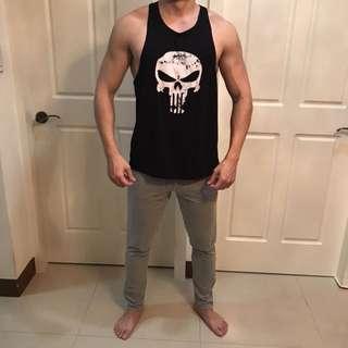 🚚 健身品牌Gym fitness tank 運動背心 挖背背心 健身背心 重訓背心