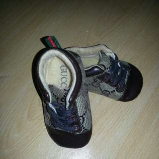 Baby Gucci shoes'
