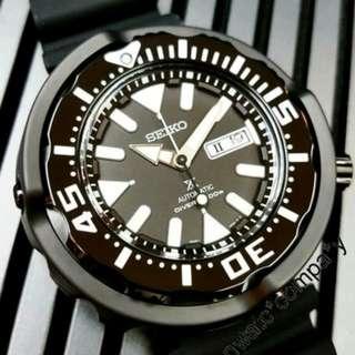 SRPA81K1 SRPA81 有門市保用 信心保證 SEIKO PROSPEX watch 精工自動手錶 黑鋼扇貝
