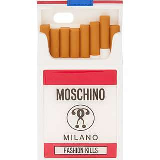 Moschino iPhone6 iphone 6 apple silicone case cigarette