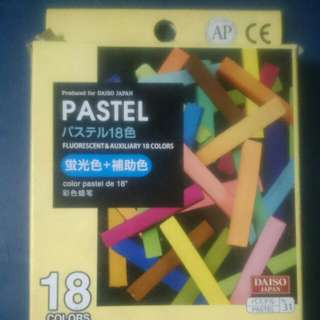 Oil Pastel Crayons DAISO
