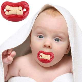 PACIFIERS DUMMY BABY FUNNY TEETHER PACY ORTHODONTIC NIPPLES SOOTHERS