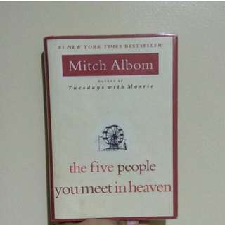 HB The Five People You Meet in Heaven - Mitch Albom